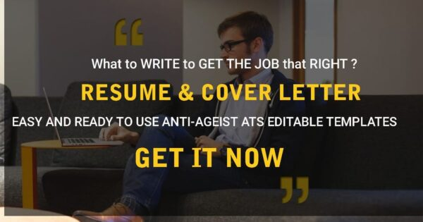 Resume and cover letter combo